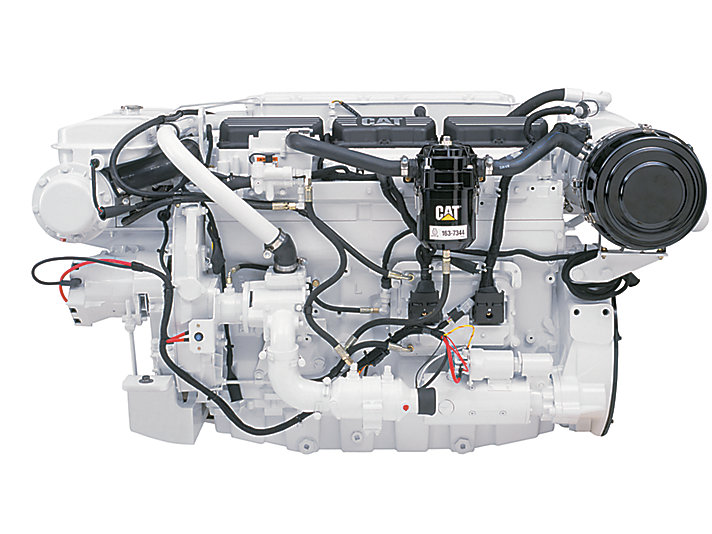 Caterpillar 366 bkW Marine Propulsion Engine, Model C12 C